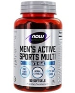 NOW Foods - Men's Extreme Sports Multi - 90 Softgels, from category: Vitamins & Minerals