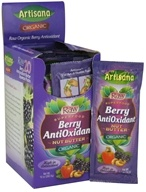 Artisana - Raw Organic Superfood Nut Butter Squeeze Pack Berry Antioxidant - 0.5 by Artisana