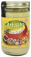 Image of Artisana - 100% Organic Raw Cashew Butter - 16 oz.