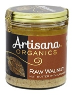 Artisana - 100% Organic Raw Walnut Butter - 8 oz. by Artisana