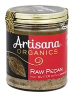 Artisana - 100% Organic Raw Pecan Butter - 8 oz. by Artisana