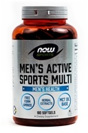 NOW Foods - Men's Extreme Sports Multi - 180 Softgels (733739038913)