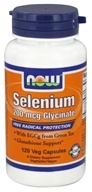 NOW Foods - Selenium Glycinate 200 mcg. - 120 Vegetarian Capsules