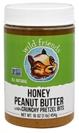 Image of Wild Friends - All Natural Peanut Butter Honey Pretzel - 16 oz.