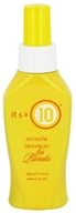 It's a 10 - Miracle Leave-In Hair Spray For Blondes - 4 oz., from category: Personal Care