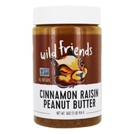 Wild Friends - All Natural Peanut Butter Cinnamon Raisin - 16 oz., from category: Health Foods