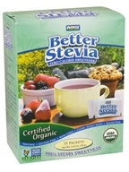 NOW Foods - Better Stevia Organic - 35 Packet(s), from category: Health Foods