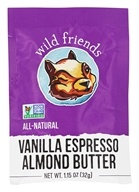 Wild Friends - All Natural Almond Butter Vanilla Espresso - 1.15 oz.