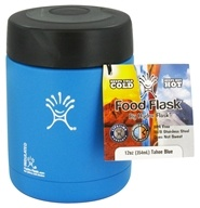Hydro Flask - Stainless Steel Food Flask Vacuum Insulated Tahoe Blue - 12 oz., from category: Housewares & Cleaning Aids