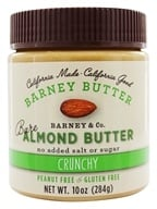 Barney Butter - All Natural Almond Butter Bare Crunchy - 10 oz.