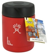 Image of Hydro Flask - Stainless Steel Food Flask Vacuum Insulated Lychee Red - 12 oz.