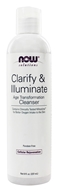 NOW Foods - Clarify & Illuminate Age Transformation Cleanser - 8 oz. - $10.59