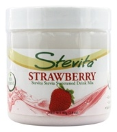 Stevita - Stevia All Natural Drink Mix Strawberry Flavored - 2.8 oz. (617928002087)