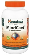 Image of Himalaya Herbal Healthcare - MindCare for Mental Alertness - 120 Vegetarian Capsules