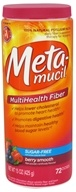Image of Metamucil - MultiHealth Psyllium Fiber Powder Berry Smooth - 15 oz.