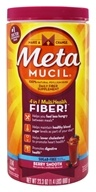 Metamucil - MultiHealth Fiber 100% Natural Psyllium Husk Sugarfree Berry Smooth - 23.3 oz.