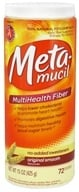 Metamucil - MultiHealth Fiber Original Smooth - 15 oz. (037000741183)