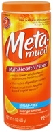 Image of Metamucil - MultiHealth Fiber Orange Smooth - 15 oz. CLEARANCED PRICED