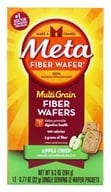Metamucil - MultiGrain Fiber Wafers Apple Crisp - 12 x .77 oz. Packets