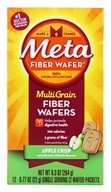 Metamucil - MultiGrain Fiber Wafers Apple Crisp - 12 x .77 oz. Packets by Metamucil