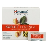 Himalaya Herbal Healthcare - Koflet - 20 Lozenges