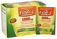 American Health - Ester-C Effervescent Natural Lemon Lime 1000 mg. - 21 Packet(s) - $12.95