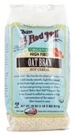 Bob's Red Mill - High Fiber Oat Bran Hot Cereal Organic - 18 oz. (039978009555)