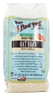 Image of Bob's Red Mill - High Fiber Oat Bran Hot Cereal Organic - 18 oz.