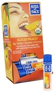 Kiss My Face - Organic Lip Balm Sliced Peach - 0.18 oz.