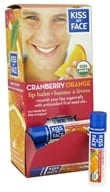 Kiss My Face - Organic Lip Balm Cranberry Orange - 0.18 oz. - $2.98