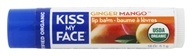 Image of Kiss My Face - Organic Lip Balm Ginger Mango - 0.18 oz.