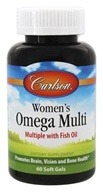 Carlson Labs - Right 1 Daily Multiple Vitamin With Fish Oil - 60 Softgels, from category: Vitamins & Minerals
