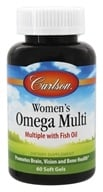 Carlson Labs - Right 1 Daily Multiple Vitamin With Fish Oil - 60 Softgels