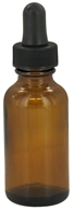 Image of Wyndmere Naturals - Amber Glass Bottle with Dropper - 1 oz.