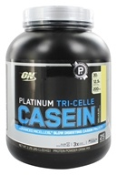 Image of Optimum Nutrition - Platinum Tri-Celle Casein Vanilla Bliss - 2.26 lbs.