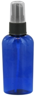 Image of Wyndmere Naturals - Cobalt Blue Plastic Bottle with Mist Sprayer - 2 oz.