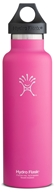 Hydro Flask - Stainless Steel Water Bottle Vacuum Insulated Standard Mouth Pinkadelic Pink - 21 oz.