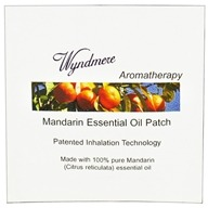 Wyndmere Naturals - Aromatherapy Essential Oil Patch Mandarin - 1 Patch(es) CLEARANCED PRICED