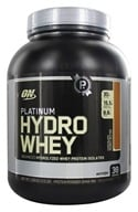 Optimum Nutrition - Platinum Hydro Whey Advanced Hydrolyzed Whey Protein Chocolate Peanut Butter - 3.5 lbs., from category: Sports Nutrition