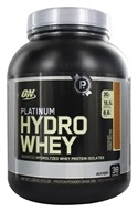 Optimum Nutrition - Platinum Hydro Whey Advanced Hydrolyzed Whey Protein Chocolate Peanut Butter - 3.5 lbs.