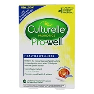 Culturelle - Probiotic Health & Wellness - 30 Capsules by Culturelle