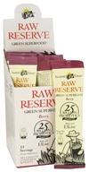 Amazing Grass - Raw Reserve Organic Green Superfood Berry - 15 x 8g Packets