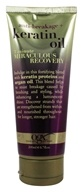 Image of Organix - 3 Minute Miraculous Recovery Cream Deep Conditioner Anti-Breakage Keratin Oil - 6.7 oz.