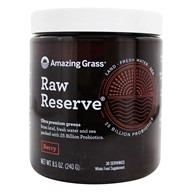 Amazing Grass - Raw Reserve Organic Green Superfood 30 Servings Berry - 8.5 oz.
