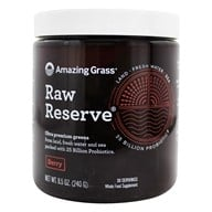Amazing Grass - Raw Reserve Organic Green Superfood 30 Servings Berry - 8.5 oz. by Amazing Grass