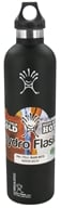 Hydro Flask - Stainless Steel Water Bottle Vacuum Insulated Narrow Mouth Black Butte - 24 oz.