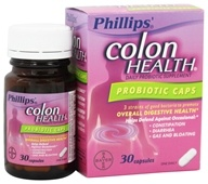 Bayer Healthcare - Phillips' Colon Health Probiotic Caps - 30 Capsules - $14.89