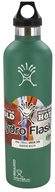 Hydro Flask - Stainless Steel Water Bottle Vacuum Insulated Narrow Mouth Green Zen - 24 oz. (705105400211)