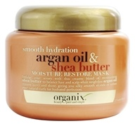 Image of Organix - Moisture Restore Mask Smooth Hydration Argan Oil & Shea Butter - 8 oz.