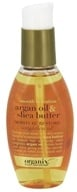 Organix - Smooth Hydration Argan Hair Oil & Shea Butter Moisture Restore - 4 oz. by Organix